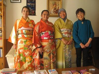 Home Visiting & Japanese Culture Experience