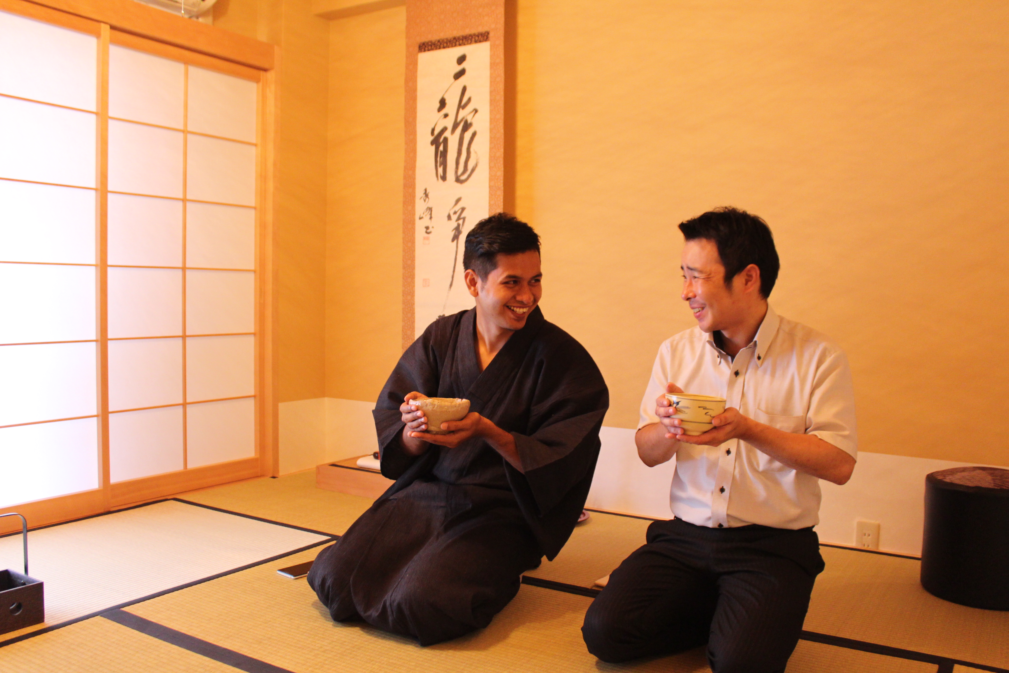 【Coming soon!】Half Board Homestay & Tea Ceremony in Kimono