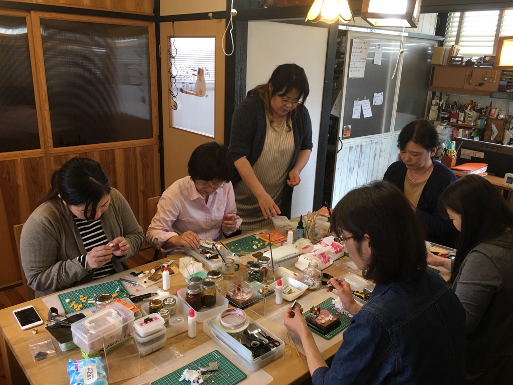 Private Tea Ceremony in Kimono & Making Miniature Food