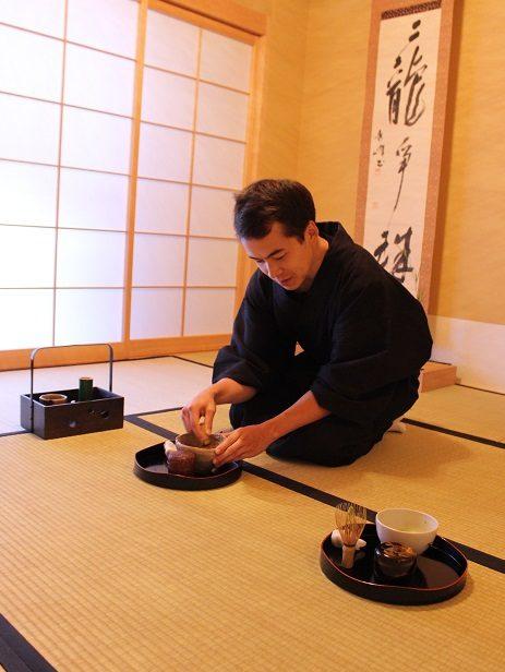 プライベート茶道体験(着付け込)