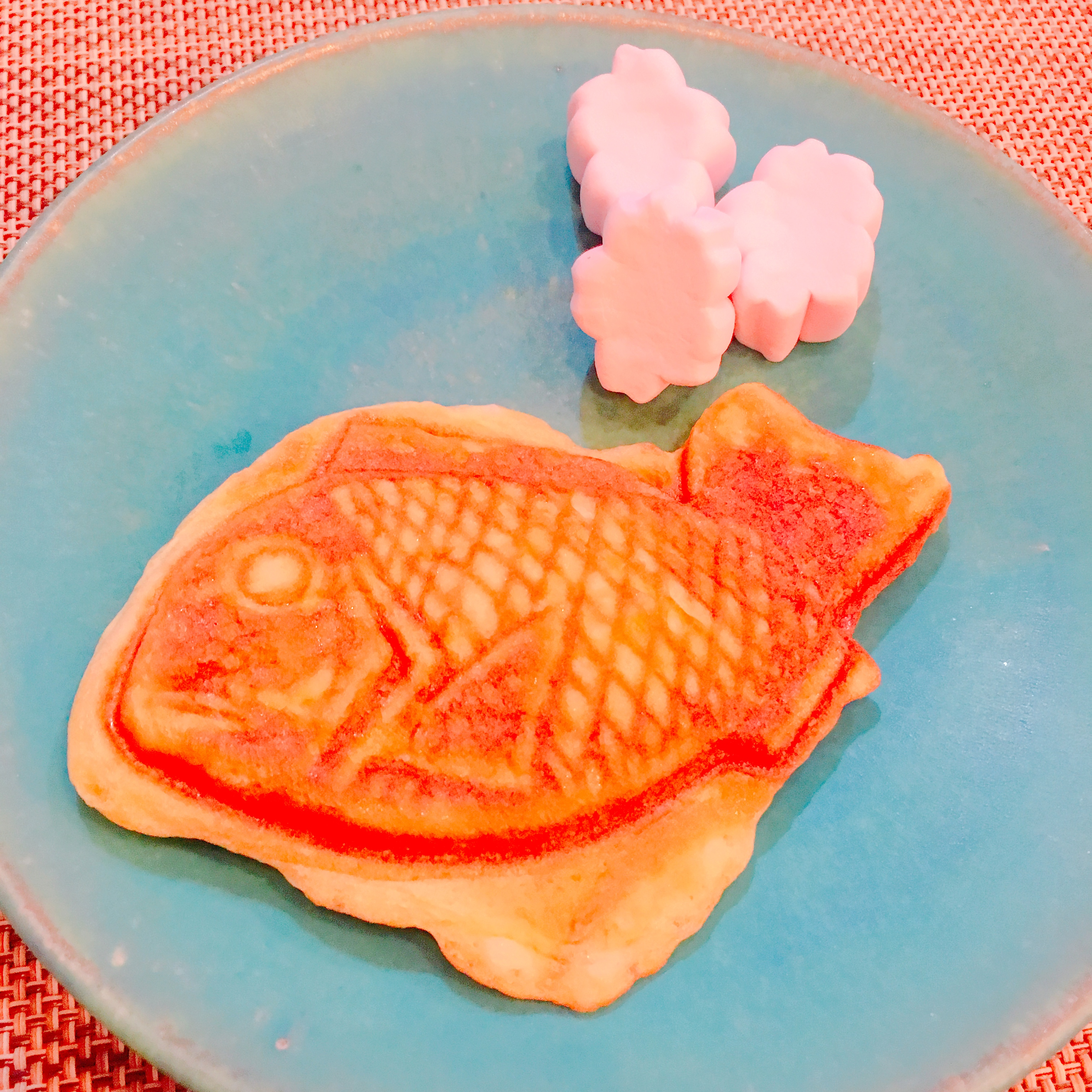 New Course! Taiyaki Making and refreshing Matcha