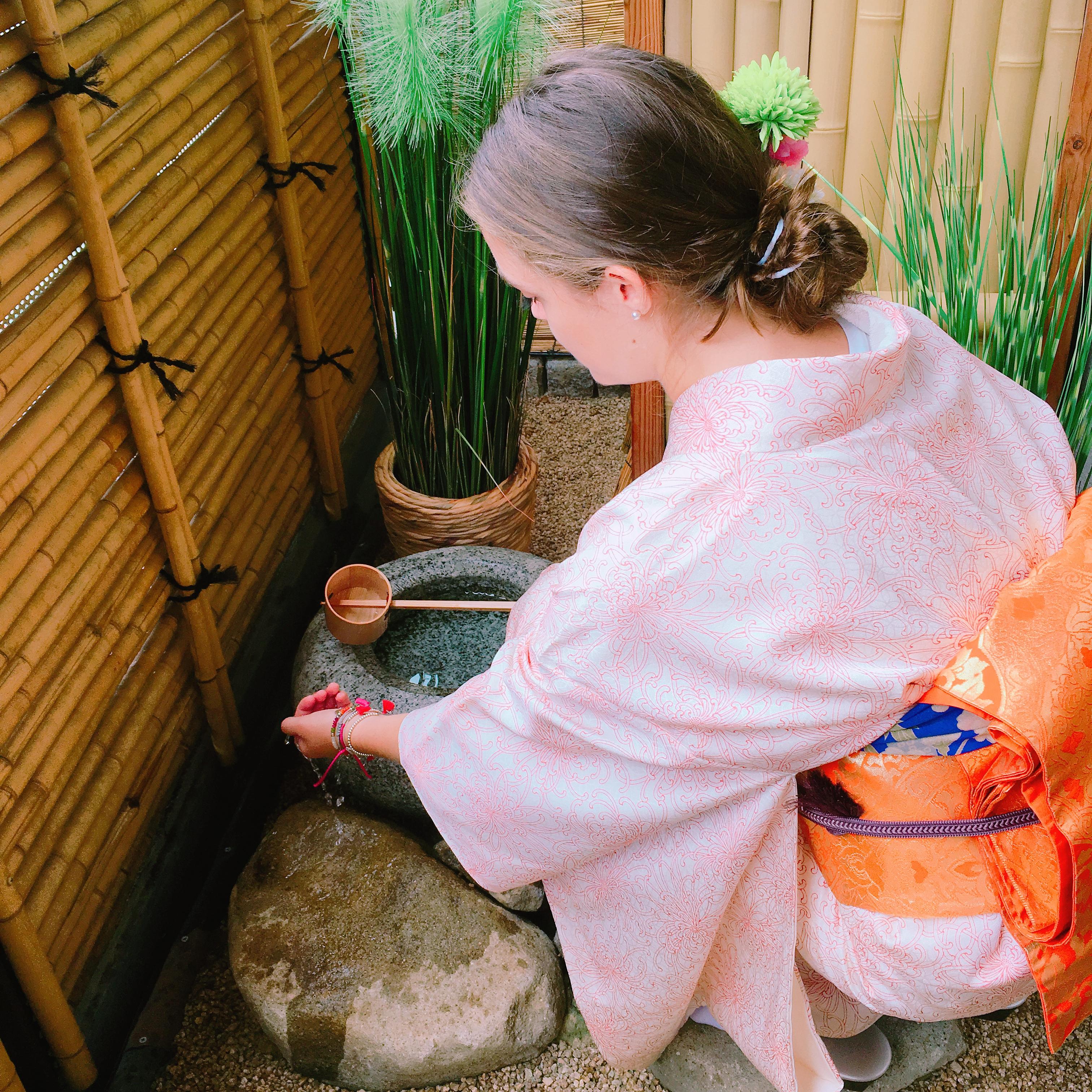 Private Tea Ceremony in Kimono